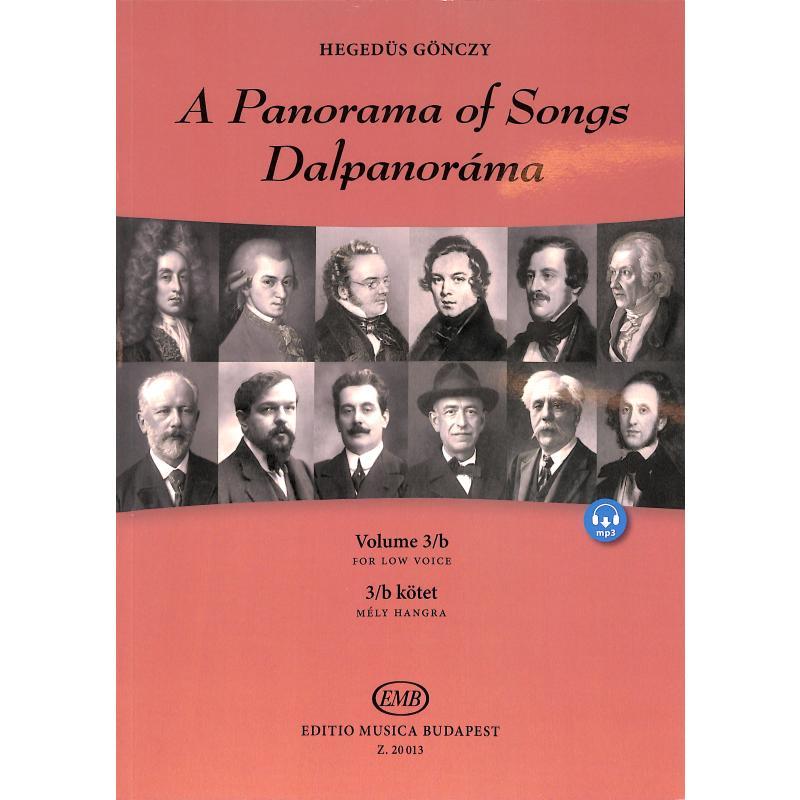 Titelbild für EMB 20013 - A panorama of songs 3B | Dalpanorama