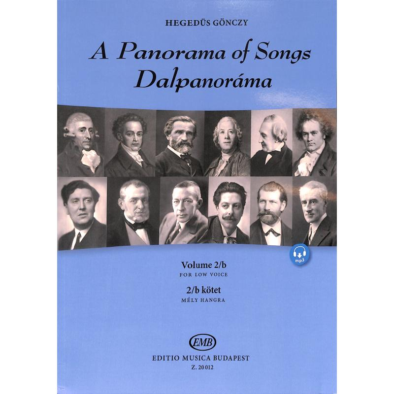 Titelbild für EMB 20012 - A panorama of songs 2B | Dalpanorama