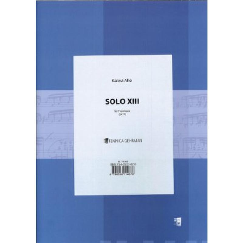 Titelbild für FENNICA 487-6 - Solo XIII