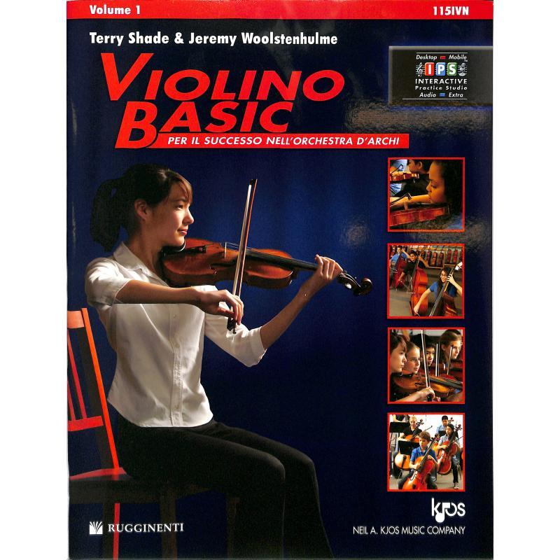 Titelbild für KJOS 115IVN - Violino basic