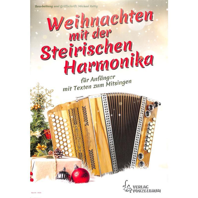 Titelbild für PURZ 10004 - Weihnachten mit der steirischen Harmonika
