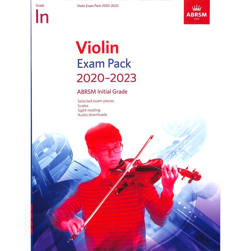 Titelbild für 978-1-78601-278-4 - Violin Exam Pack 2020-2023 Initial Grade