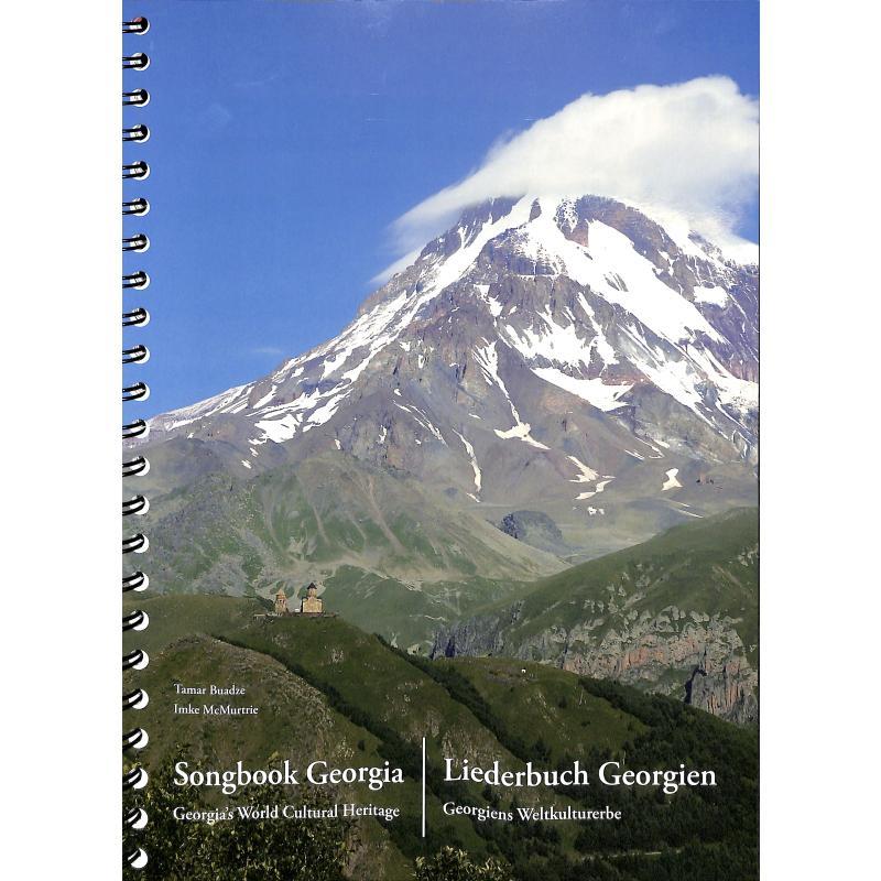 Titelbild für 978-395-490301-6 - Songbook Georgia   Liederbuch Georgien