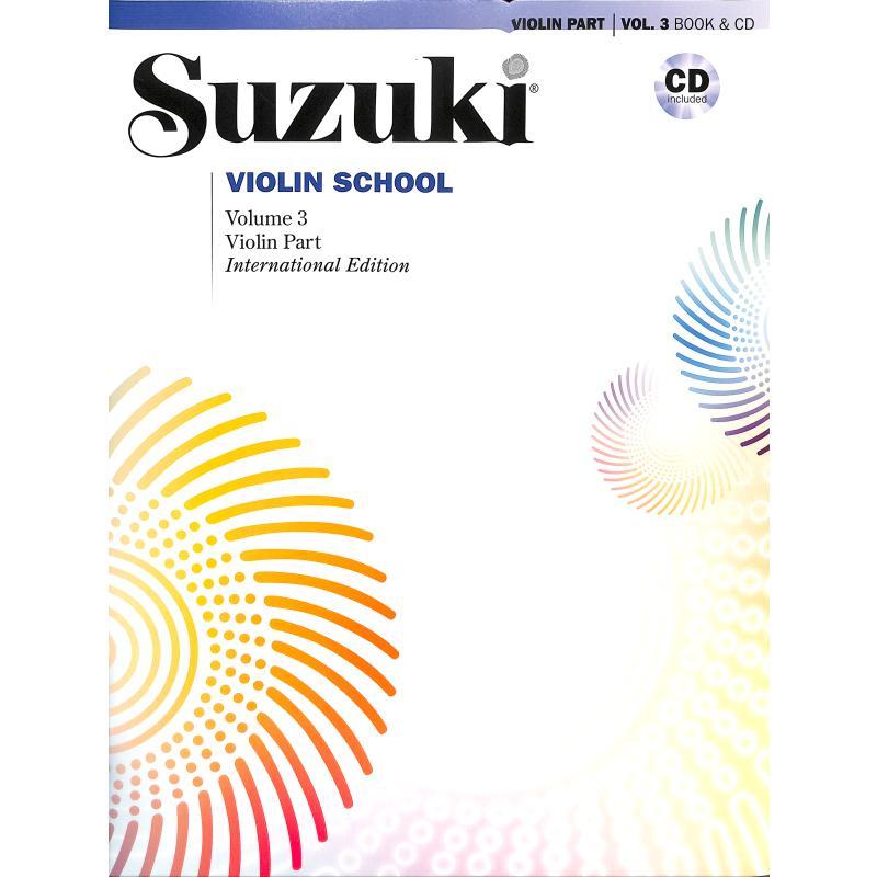 Titelbild für ALF 46912 - Violin school 3