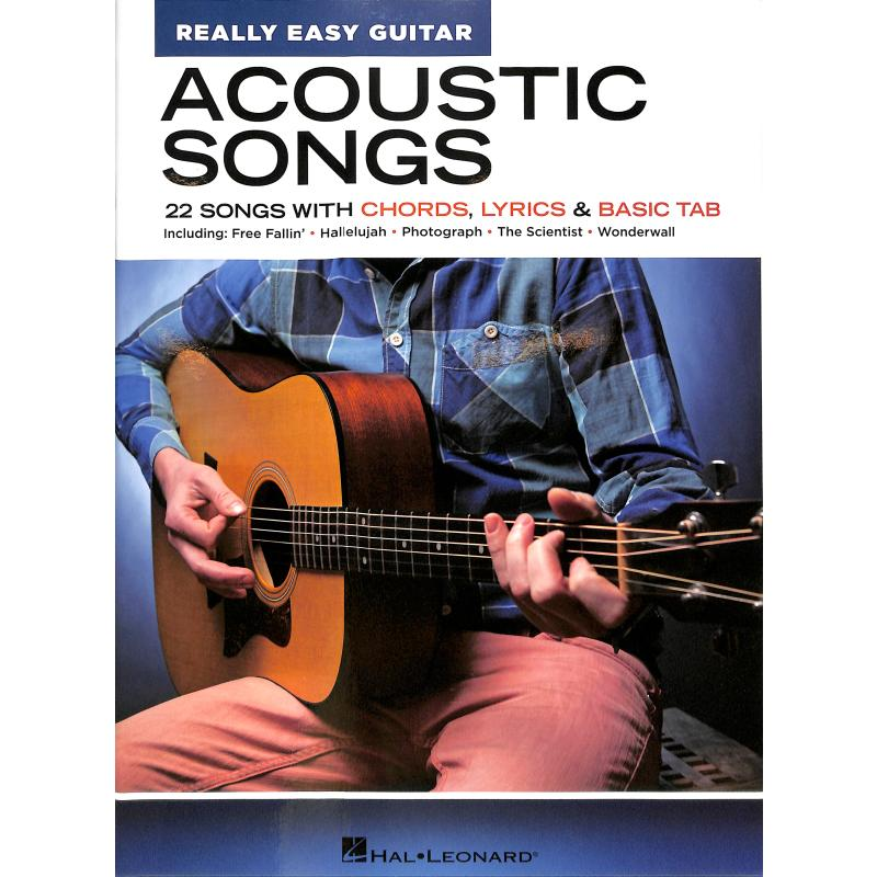 Titelbild für HL 286663 - Acoustic songs