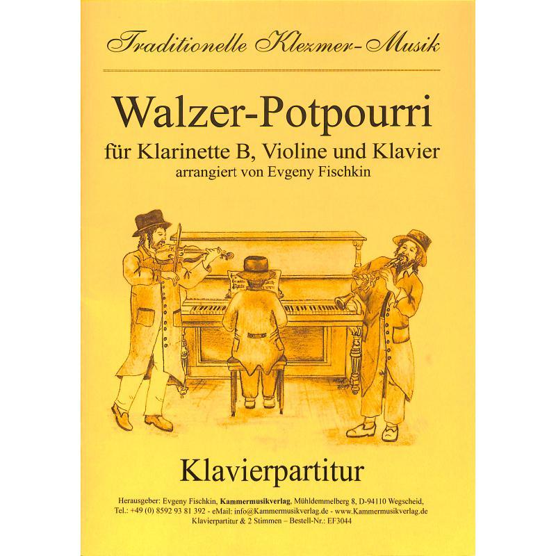 Titelbild für KMV -EF3044 - Walzer Potpourri