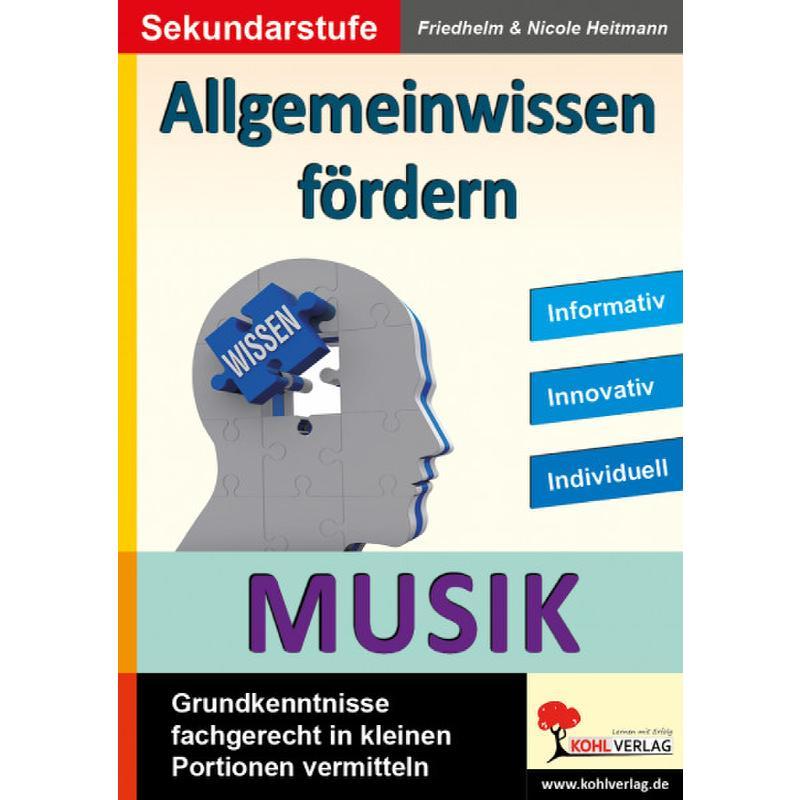 Titelbild für KOHL 12351 - Allgemeinwissen fördern - Musik