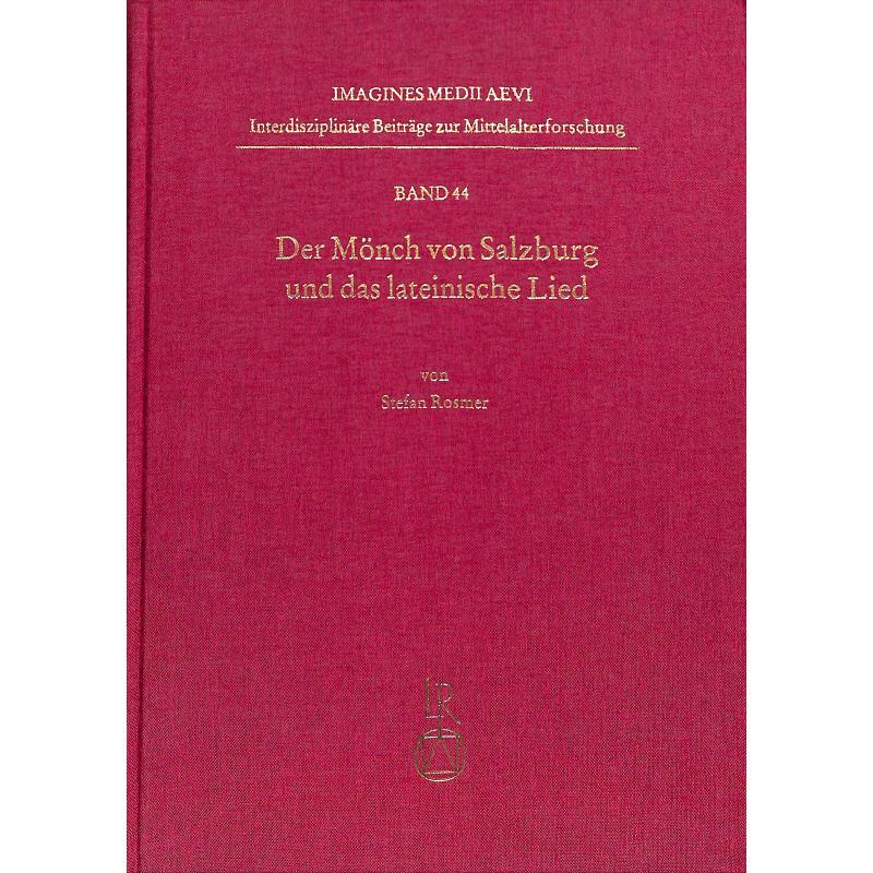 Titelbild für 978-3-95490-348-1 - Der Mönch von Salzburg und das lateinische Lied