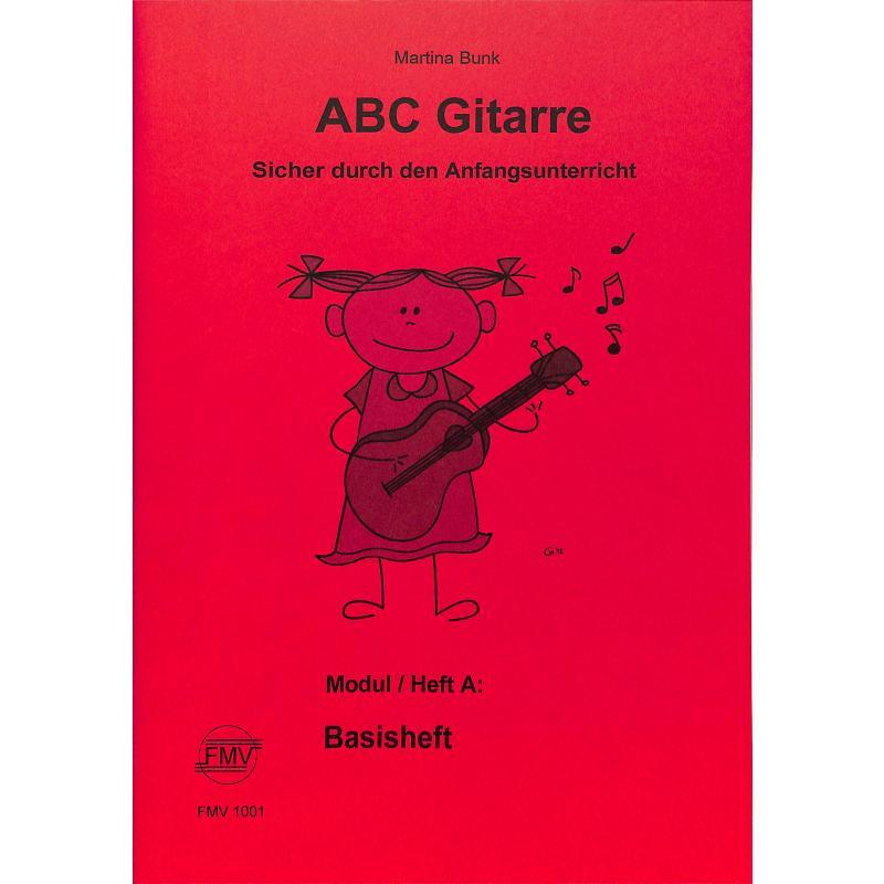 Titelbild für FMV 1001 - ABC Gitarre A | Basisheft