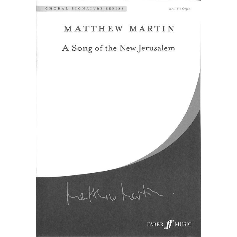 Titelbild für ISBN 0-571-53675-1 - A Song of the New Jerusalem