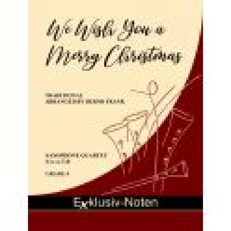 Titelbild für EXKLUSIV -SAX1108 - We wish you a merry christmas