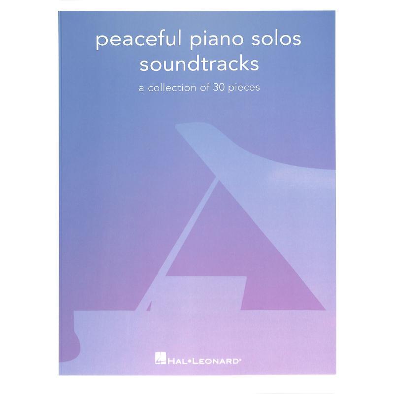 Titelbild für HL 334969 - Peaceful piano solos - Soundtracks