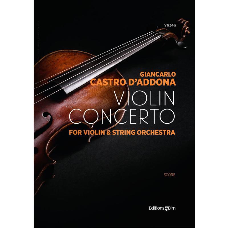 Titelbild für BIM -VN34B - Violin Concerto