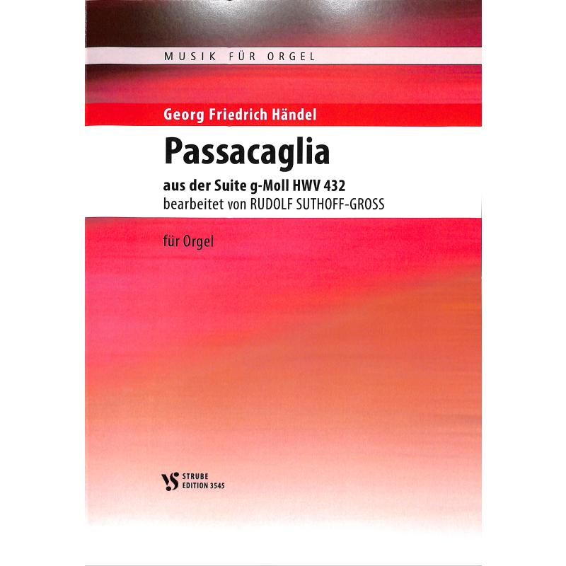 Titelbild für VS 3545 - Passacaglia