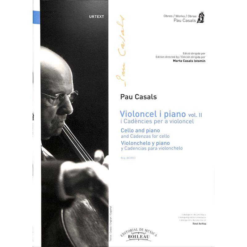 Titelbild für BOILEAU -BC0003 - Violoncel i piano 2