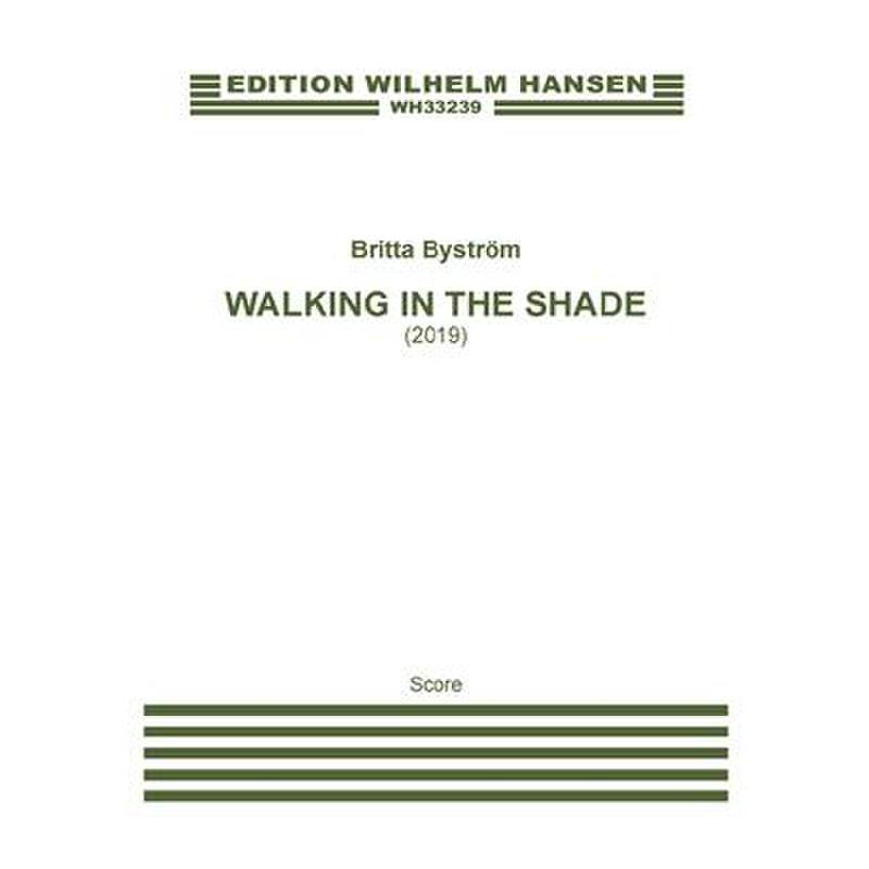 Titelbild für WH 33239 - Walking in the shade