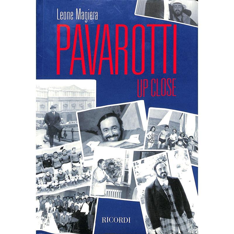 Titelbild für NR 140048 - Pavarotti Up Close