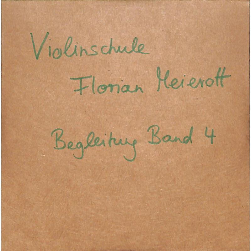 Titelbild für GN 050962 - Violinschule 4