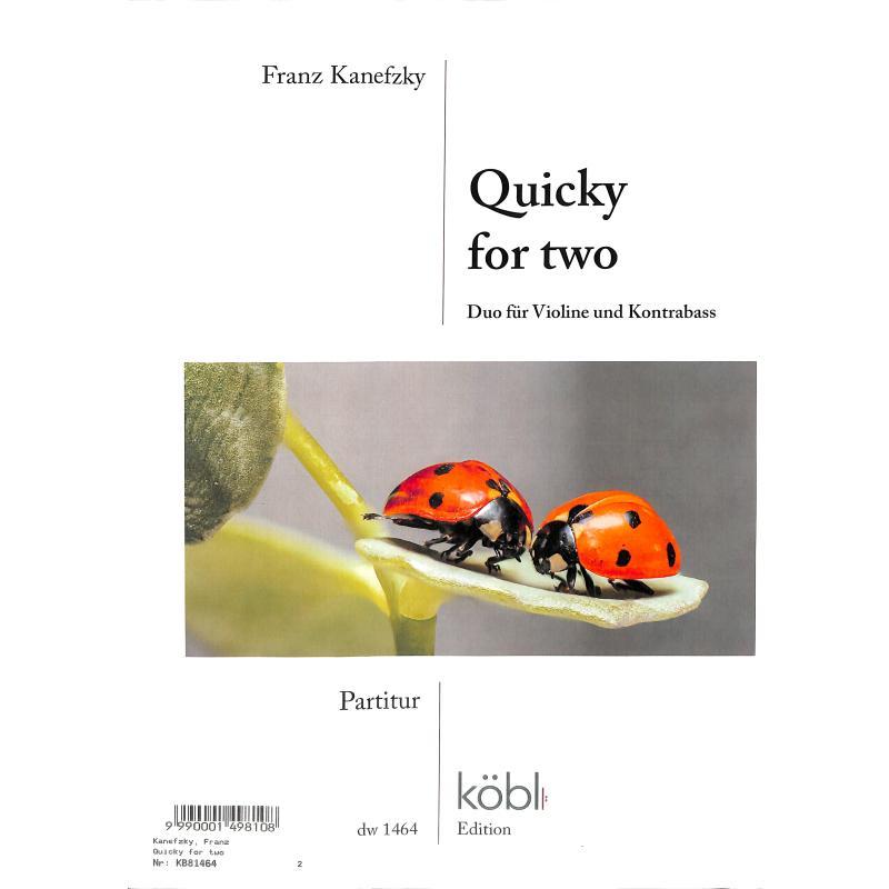 Titelbild für DIEWA 1464 - Quicky for two