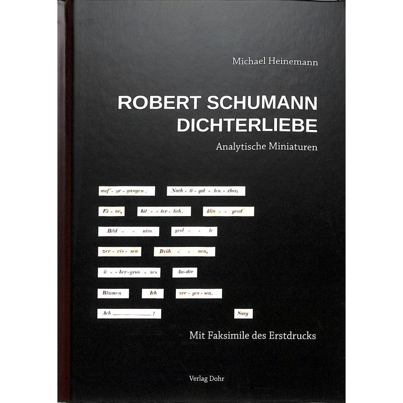 Titelbild für 978-3-86846-146-6 - Robert Schumann Dichterliebe