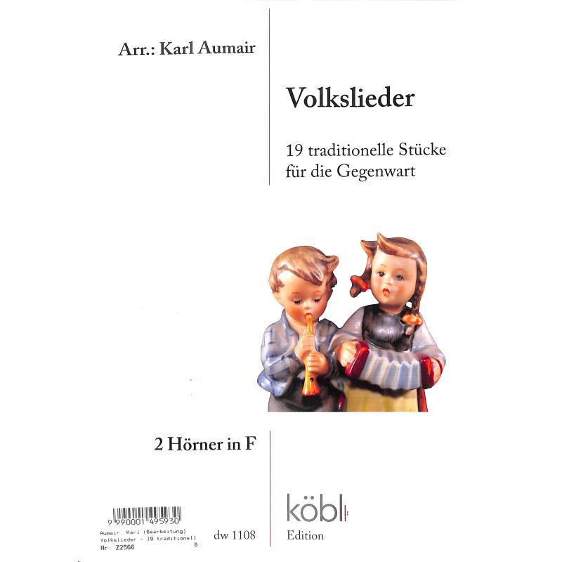 Titelbild für DIEWA 1108 - Volkslieder | 19 traditionelle Stücke für die Gegenwart