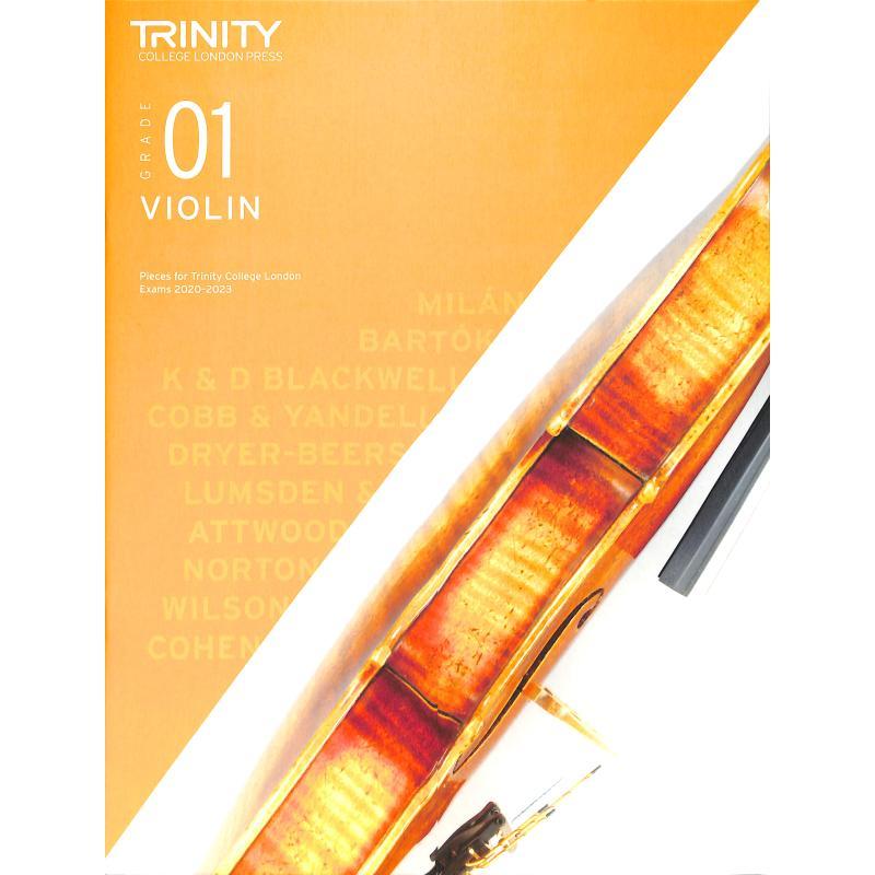 Titelbild für TCL 019196 - Violin grade 1 2020-2023