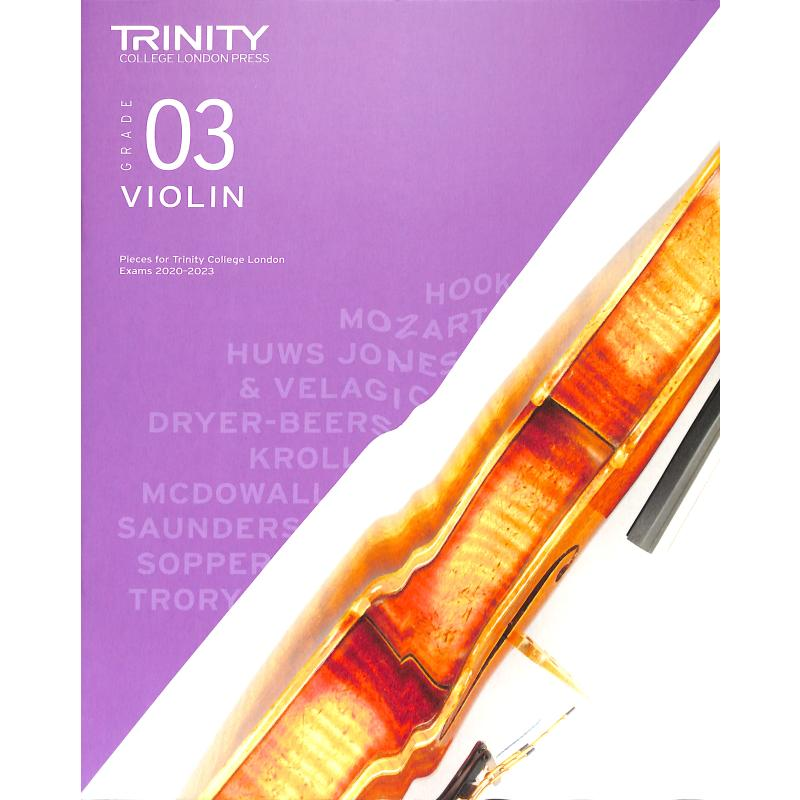Titelbild für TCL 019219 - Violin grade 3 2020-2023