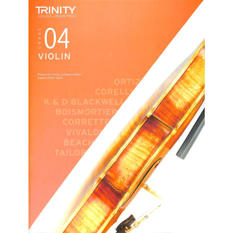 Titelbild für TCL 019226 - Violin grade 4 2020-2023