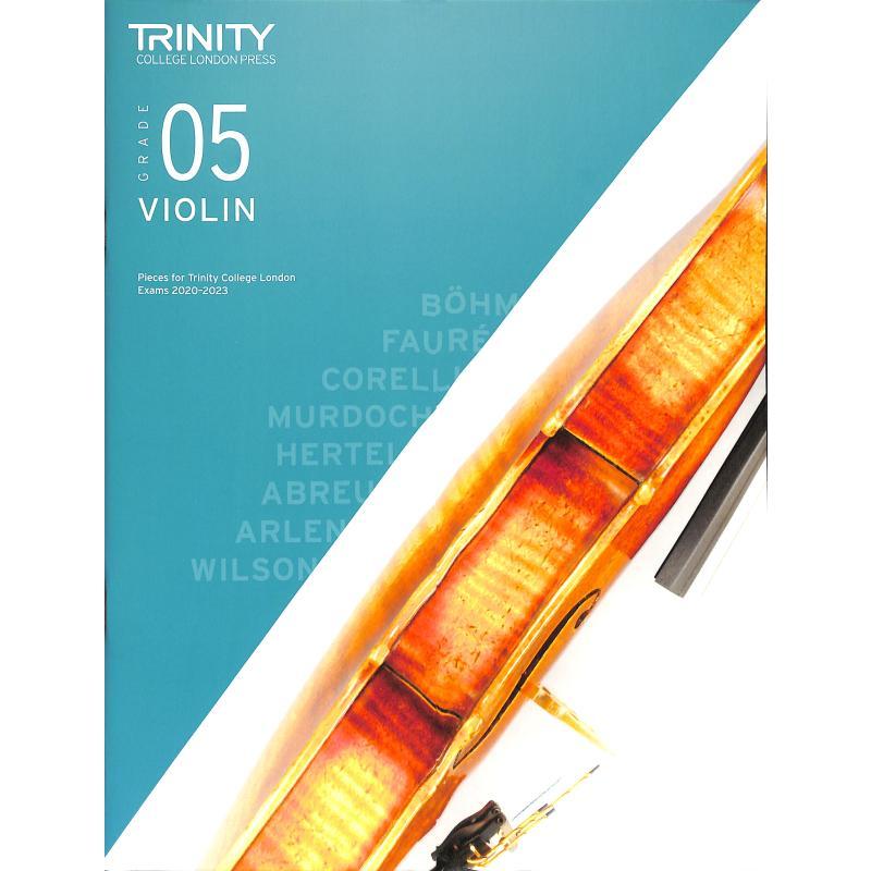 Titelbild für TCL 019233 - Violin grade 5 2020-2023