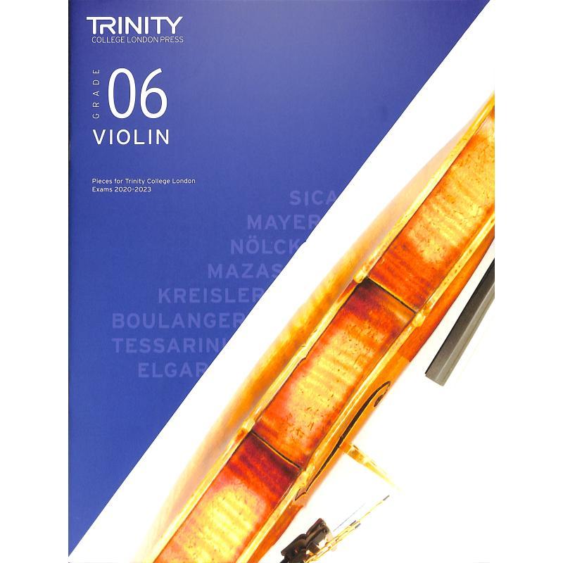 Titelbild für TCL 019240 - Violin grade 6 2020-2023
