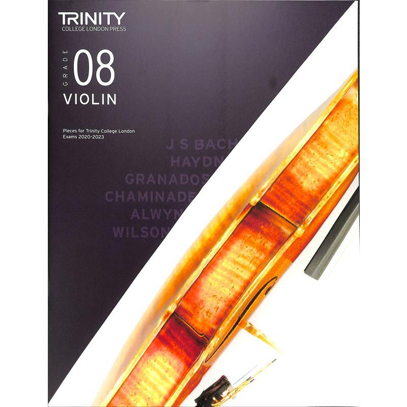 Titelbild für TCL 019264 - Violin grade 8 2020-2023