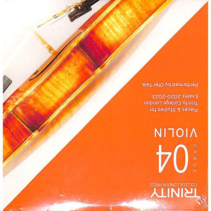 Titelbild für TCL 020079 - Violin grade 4 2020-2023