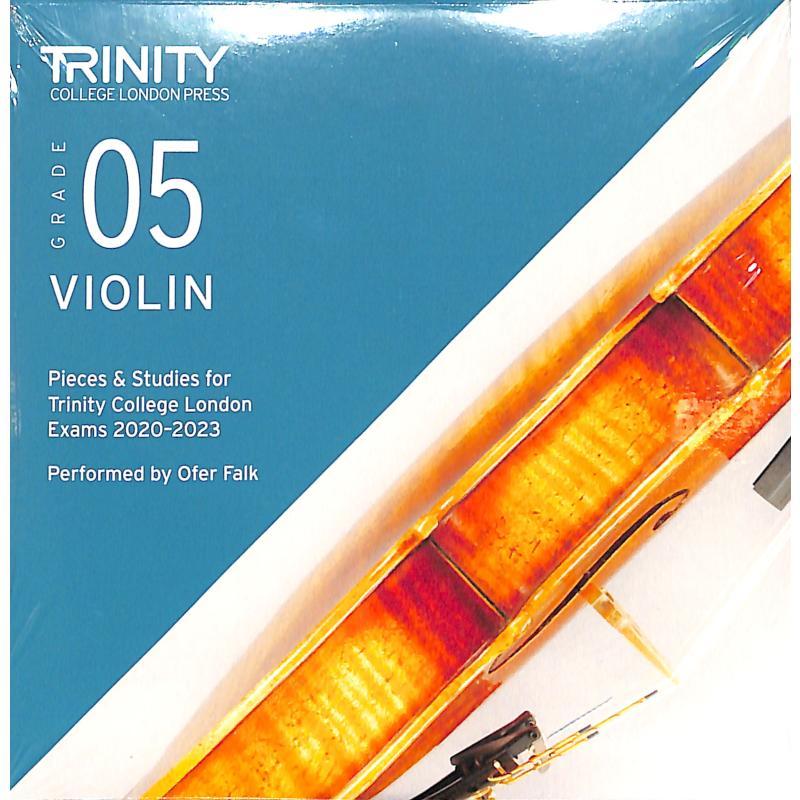 Titelbild für TCL 020086 - Violin grade 5 2020-2023