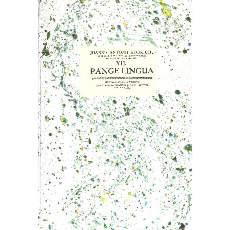 Titelbild für CORNETTO -CF1541 - Pange lingua