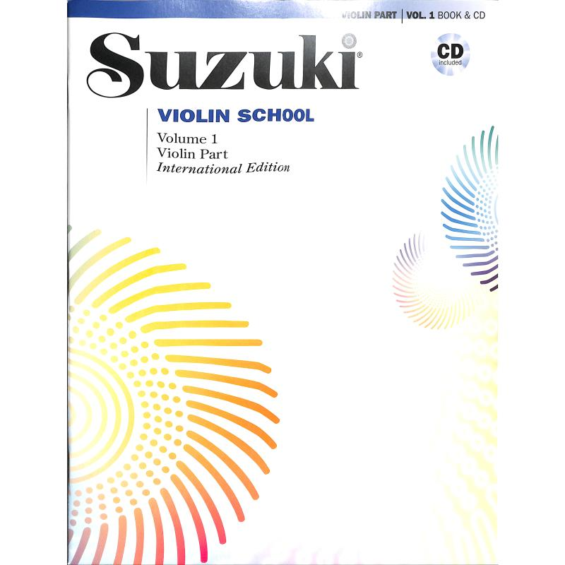 Titelbild für ALF 48722 - Violin school 1 - international edition