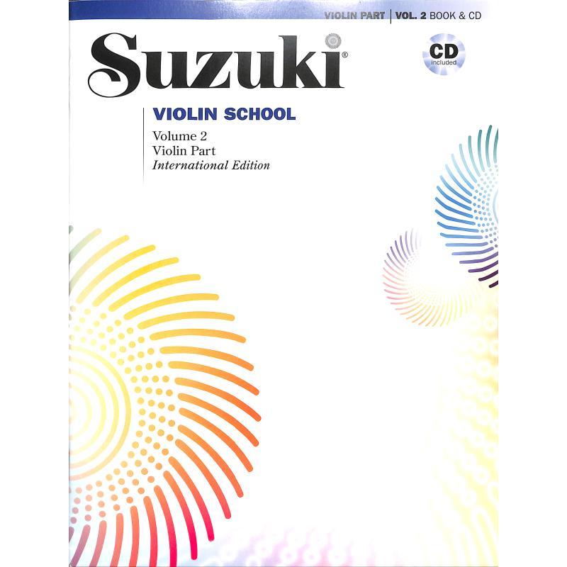 Titelbild für ALF 48725 - Violin school 2 - international edition