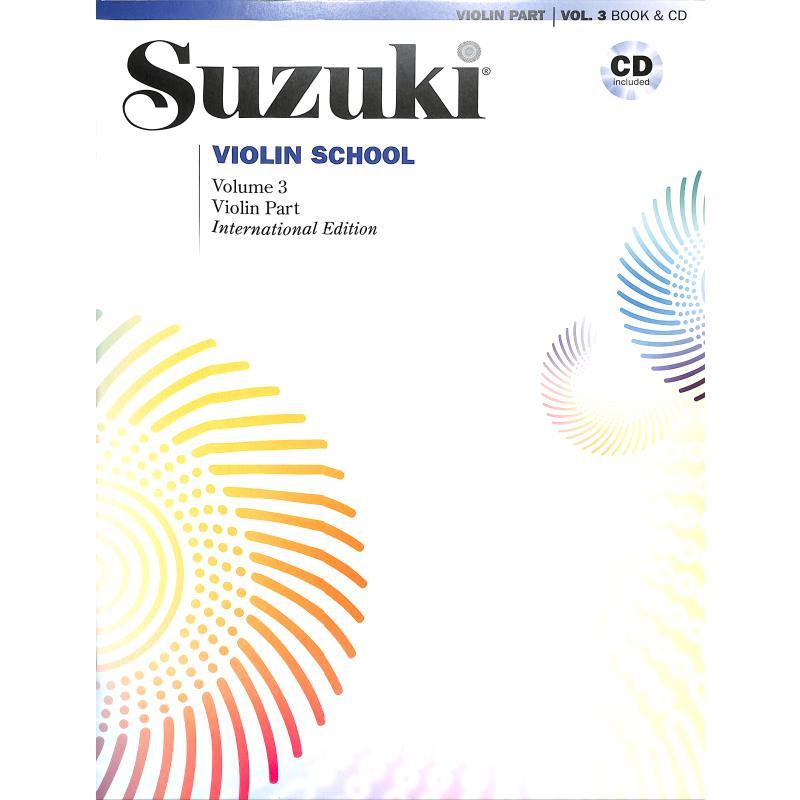 Titelbild für ALF 48728 - Violin school 3 - international edition