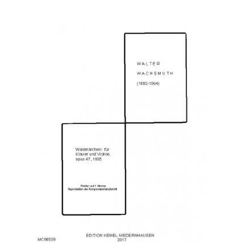 Titelbild für ROEHR 98539 - Waldmärchen op 47
