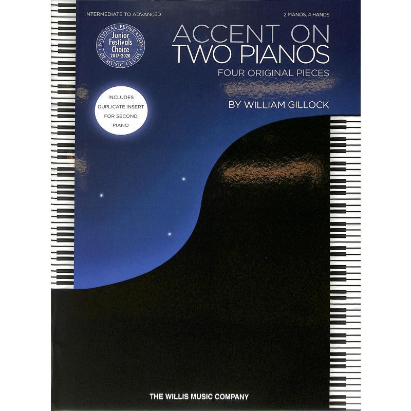 Titelbild für HL 146176 - Accent on two pianos