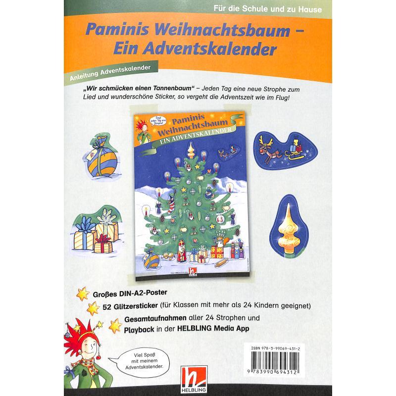 Titelbild für 978-3-99069-431-2 - Paminis Weihnachtsbaum