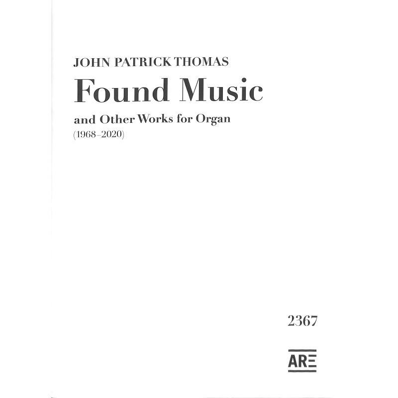 Titelbild für ARE 2367 - Found Music