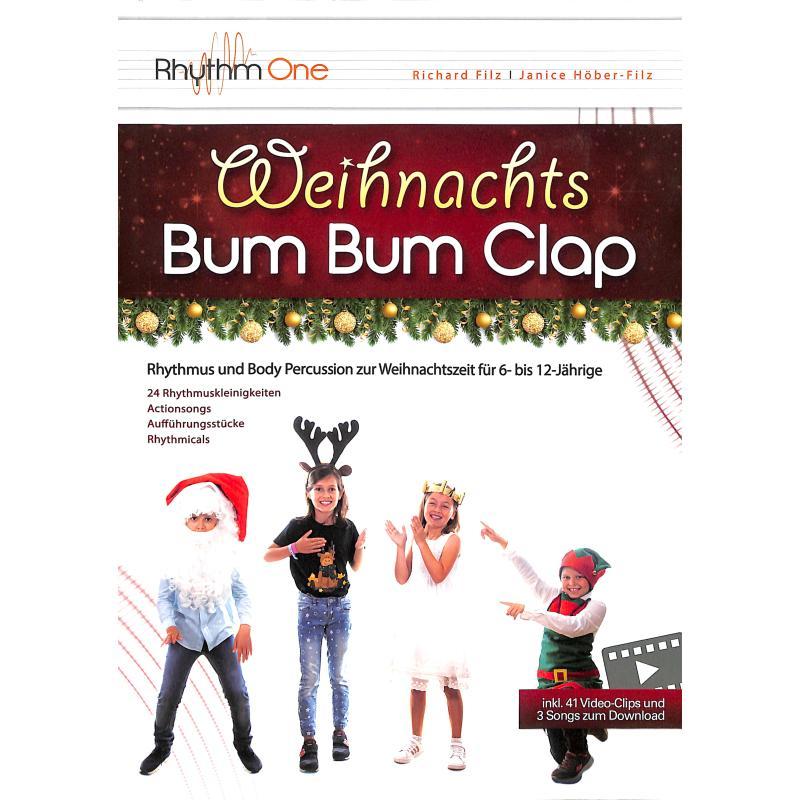 Titelbild für 978-3-9503833-9-3 - Weihnachts Bum Bum Clap