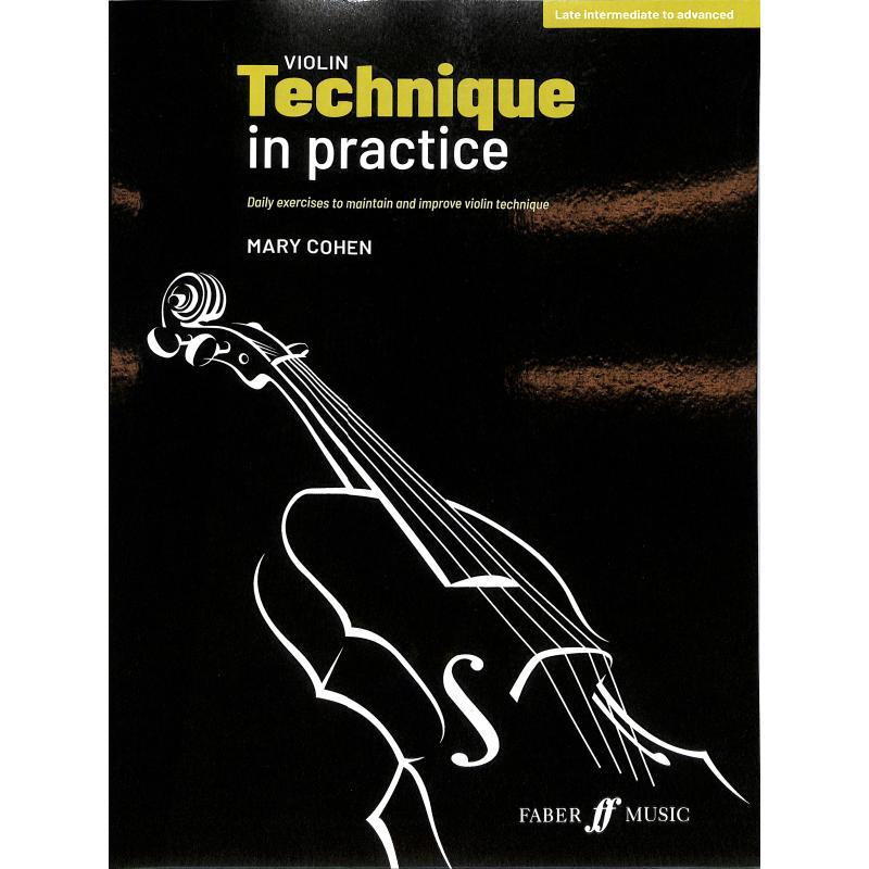Titelbild für ISBN 0-571-54157-7 - Violin technique in practice