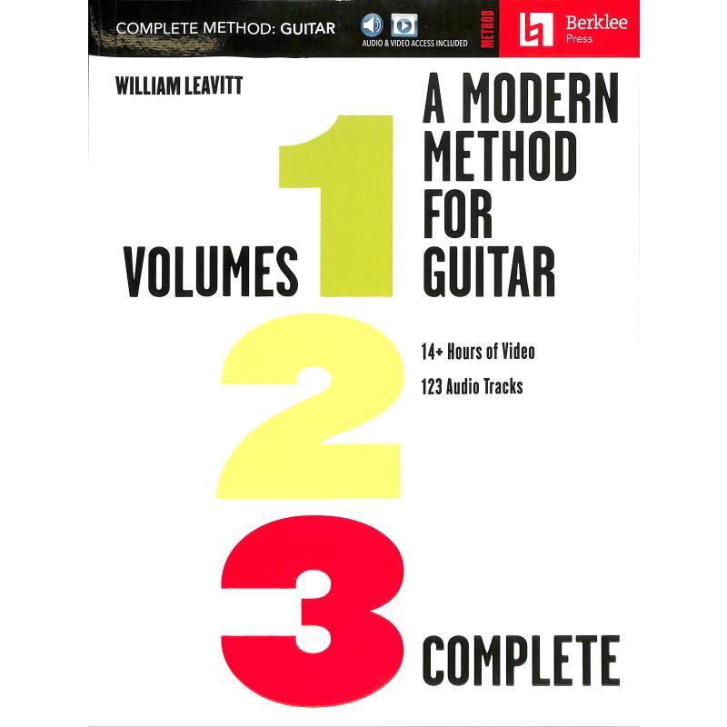 Titelbild für HL 292990 - A modern method for guitar - complete