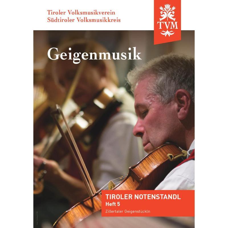 Titelbild für PM -TVM5 - Zillertaler Geigenstückln