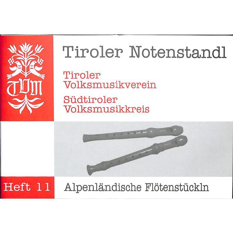 Titelbild für PM -TVM11 - Alpenländische Flötenstückln