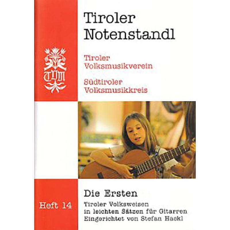 Titelbild für PM -TVM18 - Die Ersten - Tiroler Volksweisen