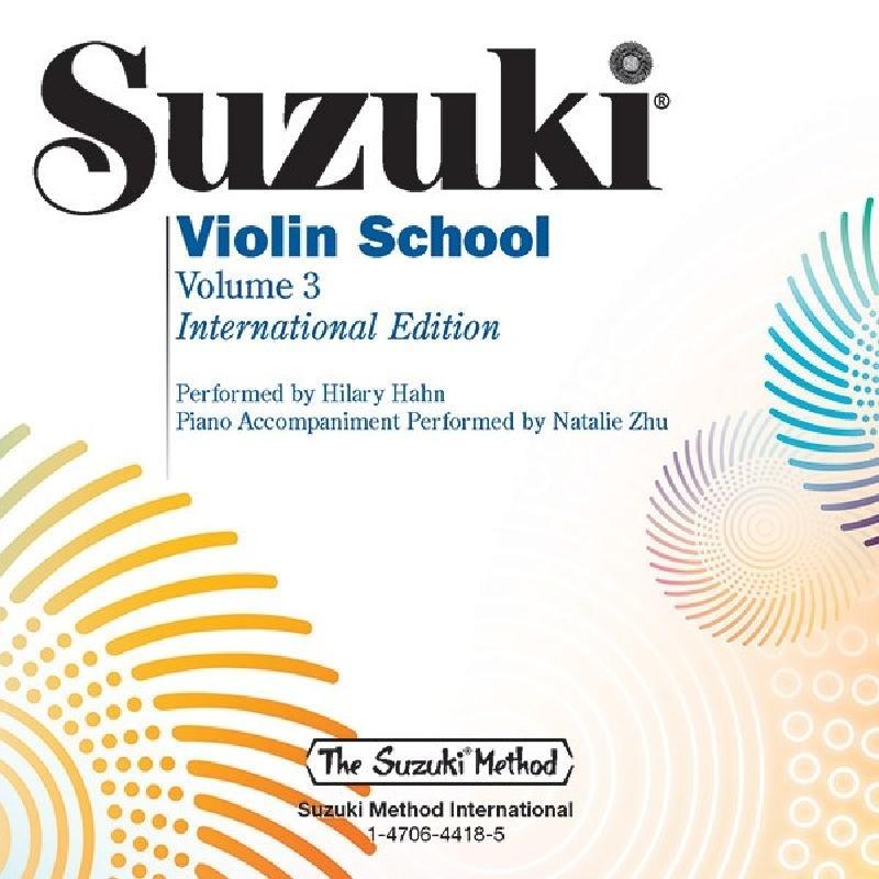 Titelbild für ALF 48729 - Violin school 3 - international edition