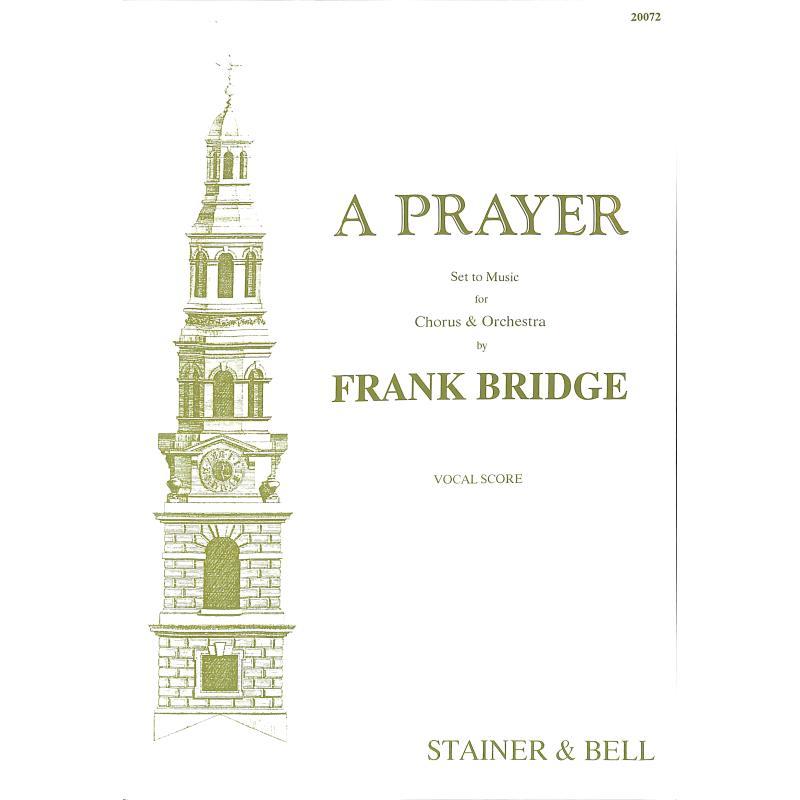 Titelbild für STAINER -HL28 - A prayer