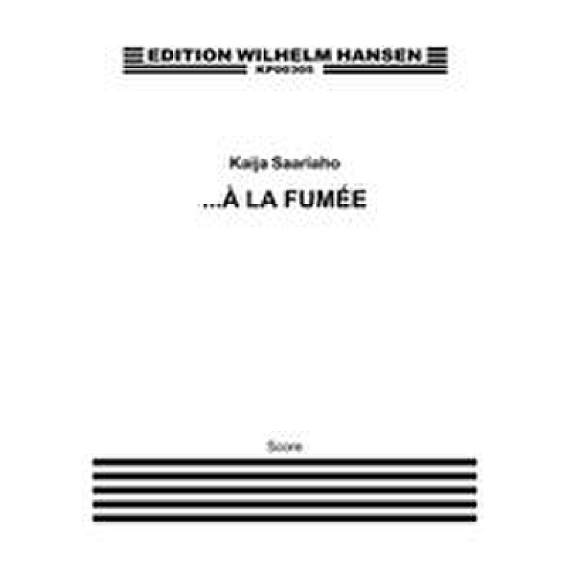 Titelbild für WH -KP00305 - A la fumee